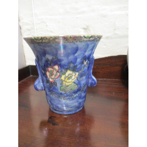 10 - A 1930s Art Deco pottery collection to include a Pilkingtons Royal Lancastrian vase Location: RWB...