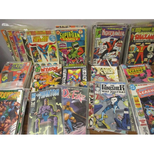 24 - DC Super Team, Justice League America, V Men, Marvel and others from around the 1970s to include fir...