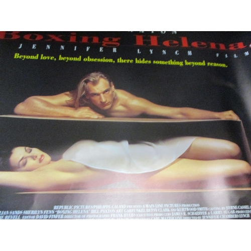 26 - Nineteen film posters to include Boxing Helena, Disney, Assasin, Total Recall, Rainman and Damage Lo...