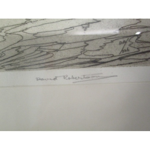 29 - Pictures to include David Robertson The Lagoon, limited edition etching, an E Mabel Lipscomb waterco...