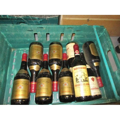57 - Thirty three mixed bottles of red wine to include 1973 Chateau Liverson, 1973 Beaune-Teurons...