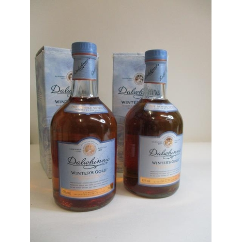 59 - Two bottles of Dalwhinnie Winters Gold single malt, 70cl...