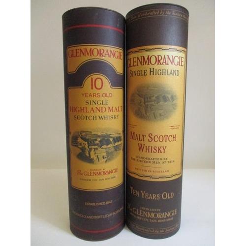 10 - Two bottles of 1lt Glenmorangie single Highland Malt Scotch Whisky...