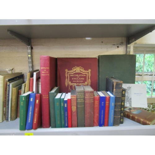 40 - A selection of books on Art and Design, Cricket, Royal Commemoratives and others to include Decorati...