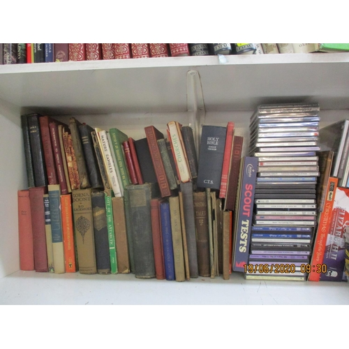 87 - Mixed 20th century books, CDs, DVDs and classical LPs Location: 1:2...