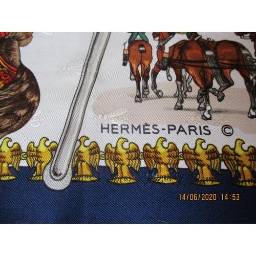 1 - Hermes - L'Empire c'est La Paix, a silk scarf 34