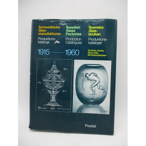 298 - Glass Design Interest - a book - Swedish Glass Factories Production Catalogues 1915-1960, Helmut Ric...
