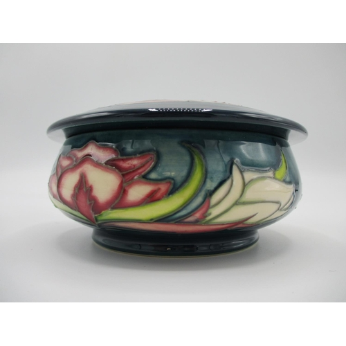 313 - A Moorcroft MCC collectors Limited Edition lidded bowl, signed by Philip Gibson, with impressed and ...