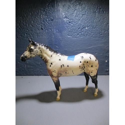 5 - A Beswick figure of a Piebald pony Location: 2:3...