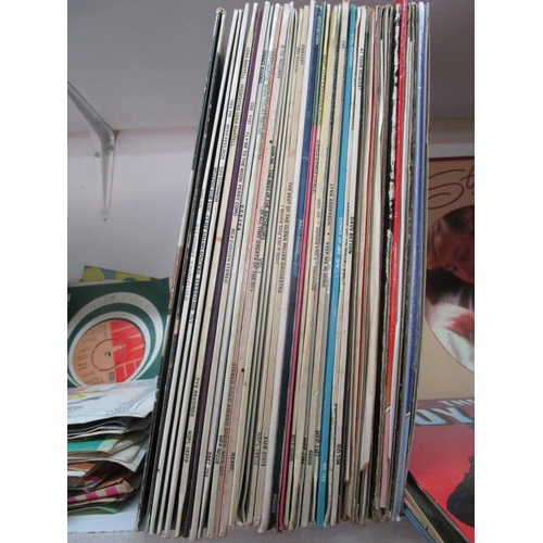 86 - A selection of LP's and singles to include pop, country music, disco, easy listening and others, to ...