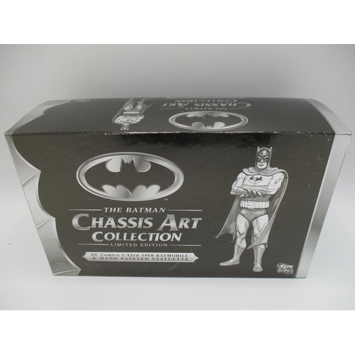102 - A Corgi Chassis Art collection, limited edition (no 1086 of 1500 worlds wide) 1.43 DC comics 1960 Ba...