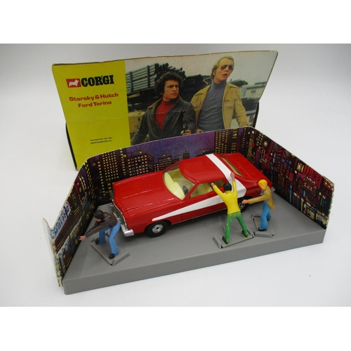 112 - A Corgi toys No. 292 Starsky and Hutch Ford Torino complete with original display box...