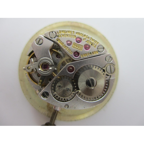61 - A Longines 9ct gold manual wind ladies wristwatch, circa 1976, the 17 jewel calibre 5602 movement nu...