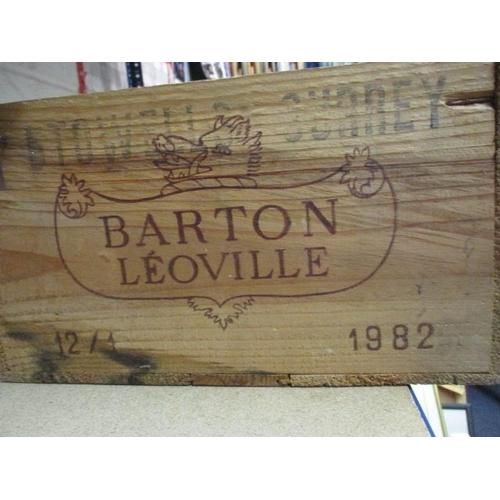 10 - 12 Bottles of Chateau Leoville Barton 1982, labels damage, ullage base of neck Location: CAB1...