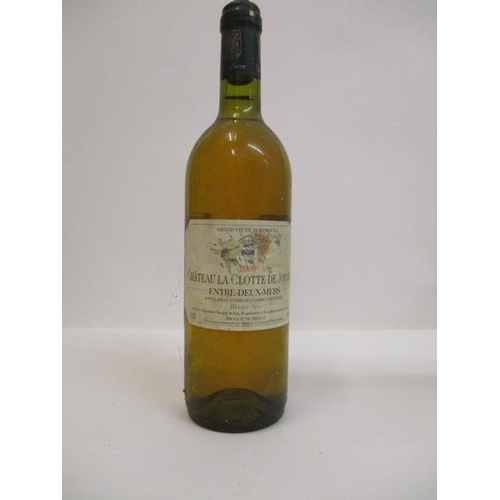 14 - 1 Bottle of Chateau La Clotte De Jouanin 2000 Location: CAB1...