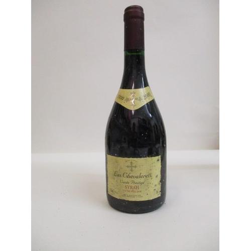 17 - 1 Bottle  of Les Chevalerets Cuvee Prestige Syrah 2000 Location: CAB1...