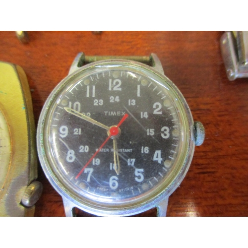 138 - Mixed gents wristwatches to include a Gianni Sabatini chronograph, Le Baron, Royal Airman, Accro and...