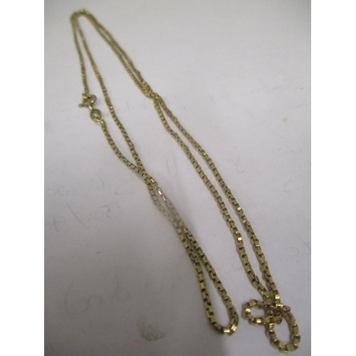 6 - An 18ct gold necklace, 7.4 grams Location: CAB...