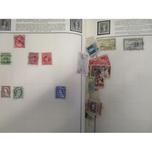 72 - A postage stamp collection from around the world to include examples from the late 19th century to t...