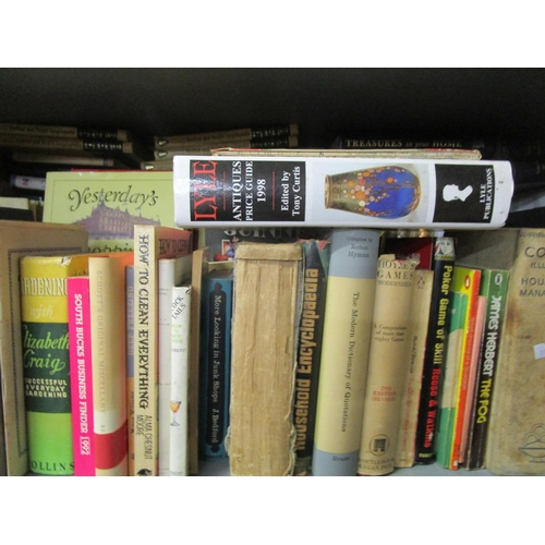 73 - A miscellaneous lot of cookery and other books to include Mrs Beetons Family Cookery, Constance Spra...