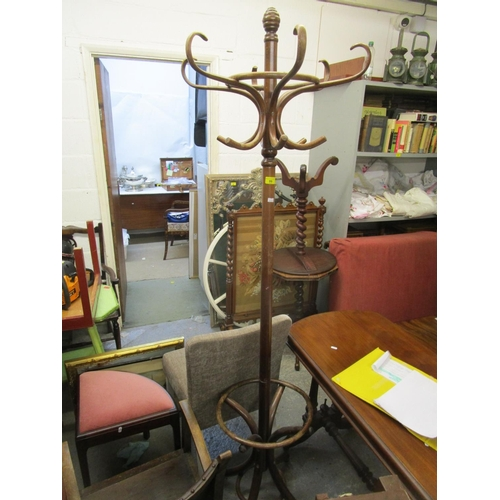99 - A bentwood coat/hat stand Location: G...