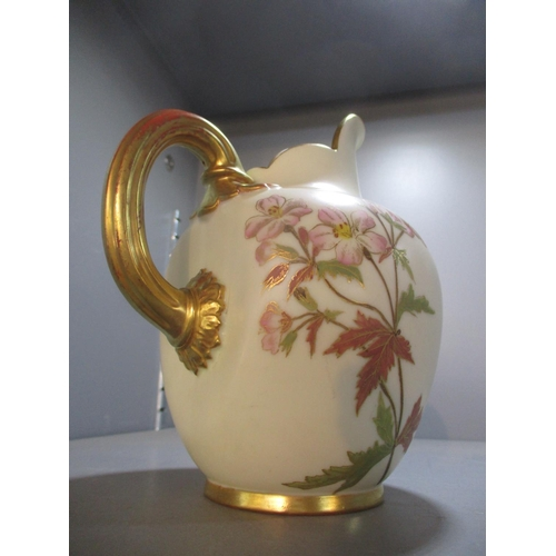 367 - A Royal Worcester blush ewer Location: 6:1...