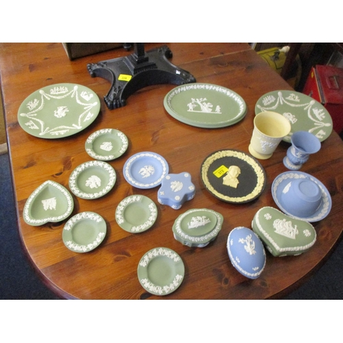 372 - A selection of Wedgewood jasperware Location: RAB...
