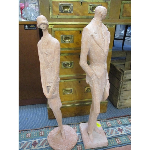 373 - A pair of Austin Production figurines Location: LWF...