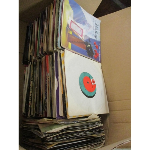 384 - A quantity of LPs and 45s from 1960s to R&B, New Romantics and pop music Location: LWB...
