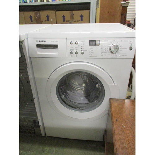 269 - A Bosch Vario Perfect washing machine (pat tested) Location: G...
