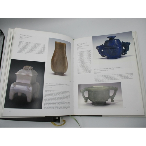 103 - A group of three Chinese art reference books comprising two on Chinese antique jade to include