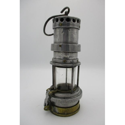 249 - A Thomas & Williams Alberdare miners lamp, type 21, 10