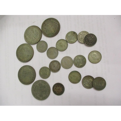 1 - A quantity of 1920 and later British crowns, shillings and other coins Location: CAB...