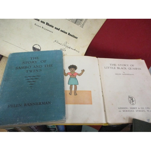 32 - Books to include A A Milne first edition, early Beatrix  Potter examples and others Location: G...
