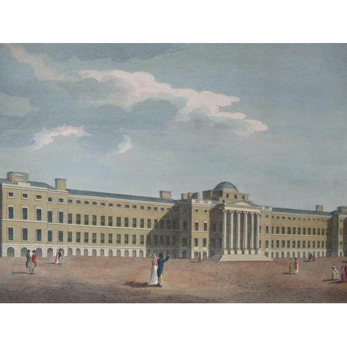 118 - A pair of early 19th century views of London, View of the New Mint on Tower Hill and The New Bethlem...