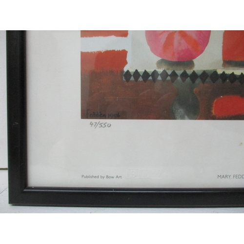 235 - Mary Fedden (1915-2012) The Orange Mug 1996, a limited edition print signed and numbered 47/550 in p...