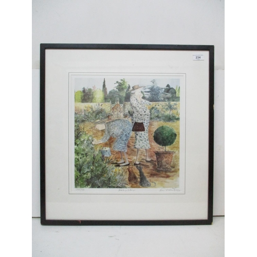 234 - Sue Macartney-Snape - Stealing Cuttings - a limited edition print signed, titled and numbered in pen...