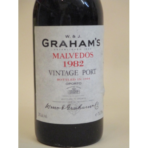 32 - One bottle of Grahams Malvedos 1982, vintage Port Location: CAB1...