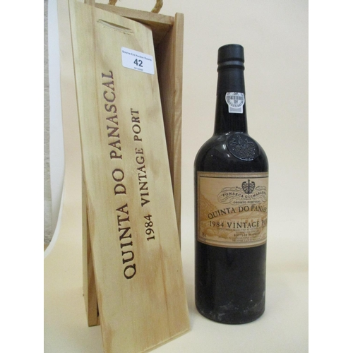 42 - One bottle of Fonseca Guimaraens Quinta Do Panascal 1984, vintage Port 75cl Location: R.4...