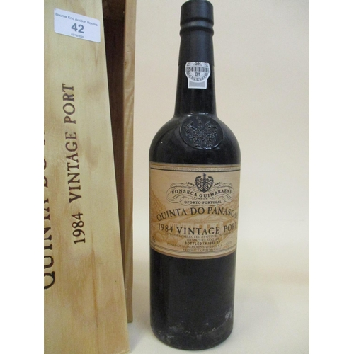 42 - One bottle of Fonseca Guimaraens Quinta Do Panascal 1984, vintage Port 75cl...