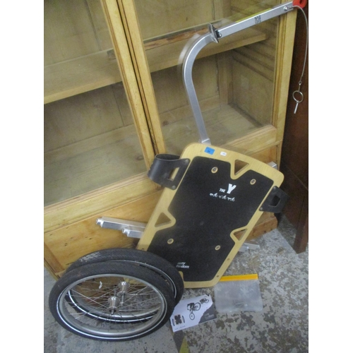 44 - A Carry Freedom bike trailer Location: G...