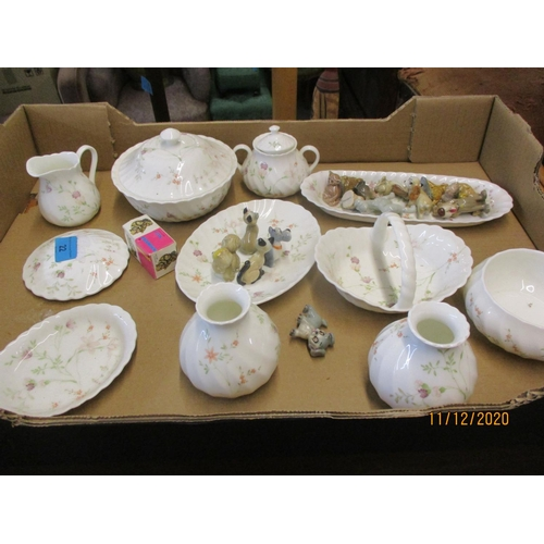22 - A selection of Wedgwood Campion pattern vases, dishes and pots, along with a group of Wade Disney an...
