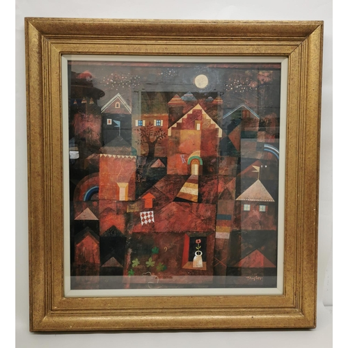 205 - Frank Taylor (b.1946) British 'Innocent Dreams', 1997, mixed media to include acrylic, watercolour a...
