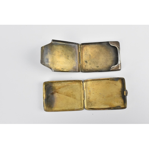 71 - A group of eight silver vesta cases, dates ranging from 1899 to 1925, comprising models with turned ...
