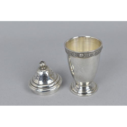 85 - A late Victorian silver bonbon basket by George Nathan & Ridley Hayes, Chester 1900, with hooped han...