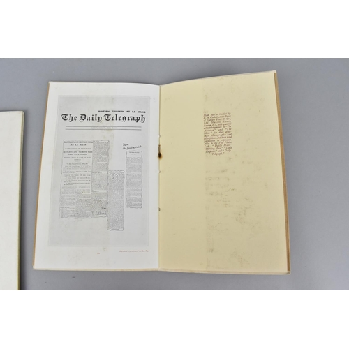 97 - Two copies of Bentley Plus Four, 1930 promotional booklets, being a 'Souvenir of the Eighth Grand Pr...