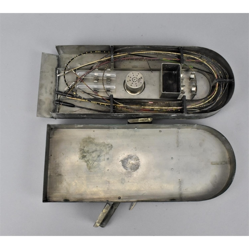 209 - A cased Arnold and Sons of London medical set of ureteric catheters, with fitted interior holding th...