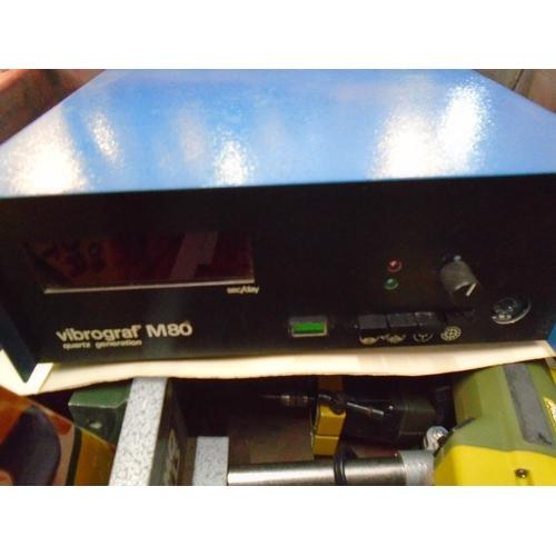 2 - A Chronos No126 horological pinion mill machine, a Vibrograf M180 Quartz generation, along with vari...