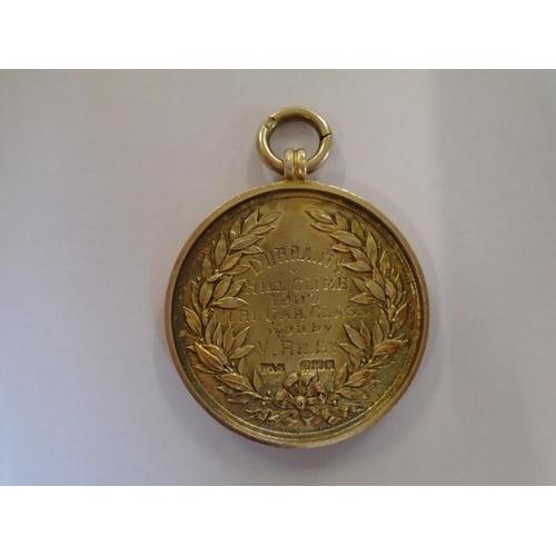 71 - Automobilia - Vaughan & Sons, a silver gilt Hertfordshire County Automobile Club Prize Medal inscrib...