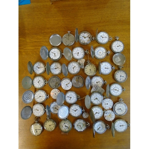 86 - A selection of approximately thirty-one pocket watches to include Rytima, RNIB, Cyma, Smiths, Tavann...